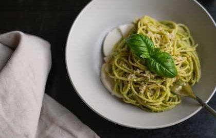 Spaghete de dovleac low-carb